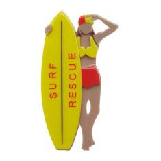 Erstwilder surf rescue brooch