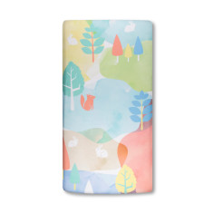 Watercolour Woods Weegoamigo Cot fitted sheet