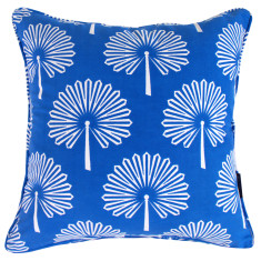 Palm leaf cushion cover (various colours)