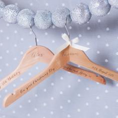 Personalised Engraved Christening Hanger