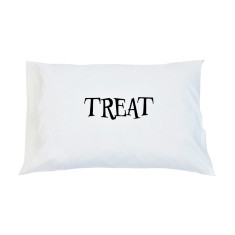 Trick Or Treat Reversible Pillow Case