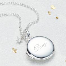 Personalised Large Diamond Lulu Locket