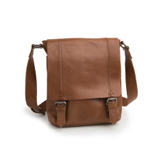 Riley messenger bag in tan