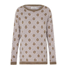 Genevieve Sweater in Spotted Almond