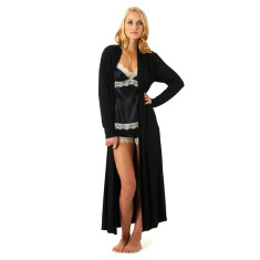Mon Cherie robe in black