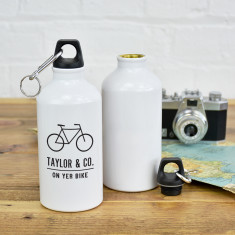 On Yer Bike Personalised Adventure Water Bottle