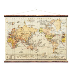 World map wall hanging hardtofind political world map wall hanging gumiabroncs Image collections