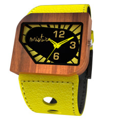 Avanti watch in yellow