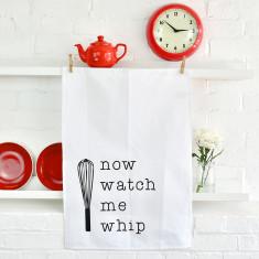 Watch Me Whip Tea Towel