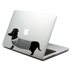 Sausage Dog Laptop Sticker
