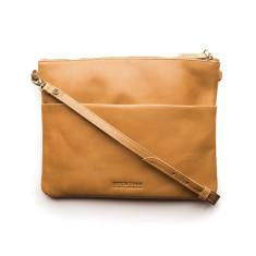 Juliette Classic Collection clutch bag in caramel