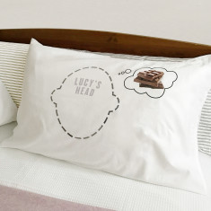 Chocolate dreams pillowcase