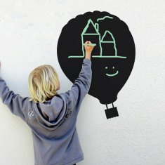Reusable Chalkboard Balloon Wall Decal