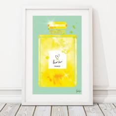 Perfume colour print