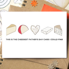 Cheesy Father's Day card