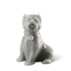 Chester the dog candle