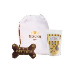 Personalised dog-signer chewy dog hamper