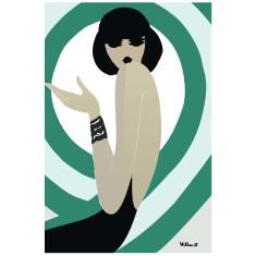 Spirale vintage poster print by Bernard Villemot
