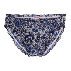 Potted underpants in China blue