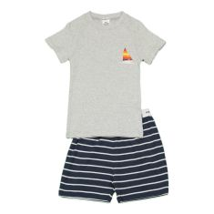 Boys' Charlie stripe sailing pj set