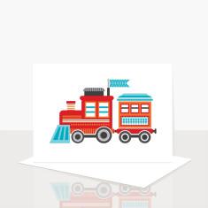 Choo Choo Train Greeting Card (Pack of 8)