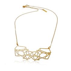 Short composition necklace