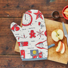 Christmas Delights oven mitt
