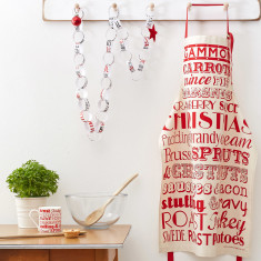 Christmas dinner apron