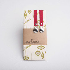 Olive Christmas reusable gift wrap