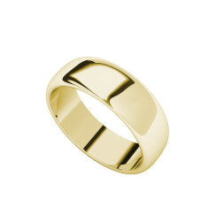 Chunky 9 carat yellow gold ring