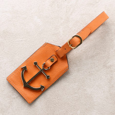Anchor luggage tag (various colours)