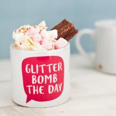 Glitter Bomb the Day Children's Mug