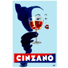 Cinzano Aperitif vintage poster