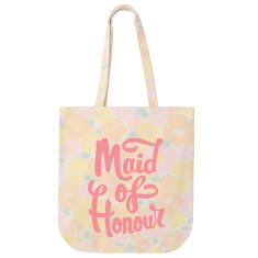 Maid Of Honour Floral Tote Bag