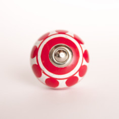 Circus top knob/drawer pull