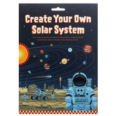 Create Your Own Solar System 3 in 1 activity set