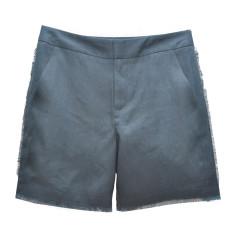 Fray Linen Shorts