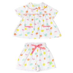 Tutti frutti girls' playtime set