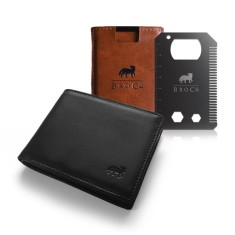 The Anti-Skim Wallet & BroCard Pack