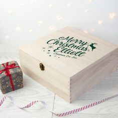 Personalised Rudolf Christmas Eve Box - Large