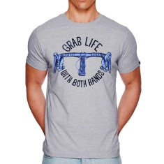 Grab life men's t-shirt