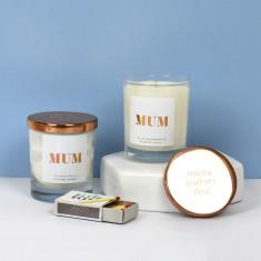 Mum Copper Lid Candle