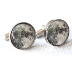 Moon cufflinks