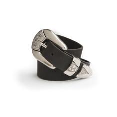 Eden belt in black
