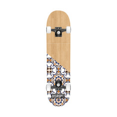 Floral Wood Skateboard deck