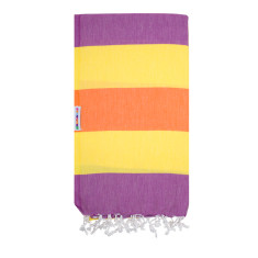 Clash Daisy & grape Turkish towel