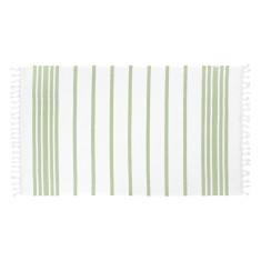 Classic olive Turkish towel