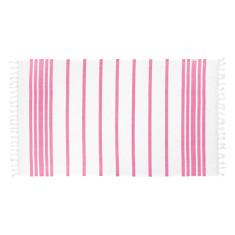 Classic pink Turkish towel