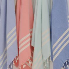 Classic stripe towel (various colours)