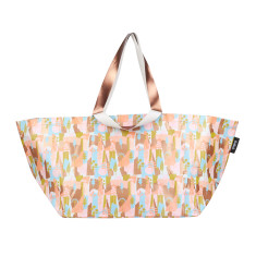 Summer Forest by Leah Bartholemew Print Beach Bag